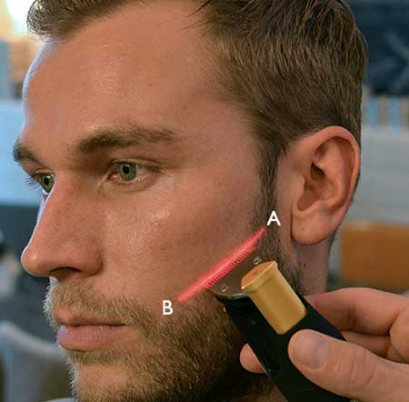 How to create a perfect cheekline for your beard