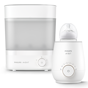 Philips Avent Electric sterilizer & dryer and Fast bottle warmer