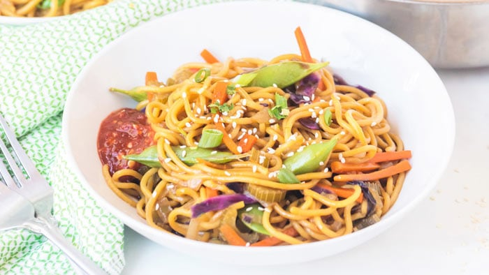 Easy Pancit Canton/Chow Mein