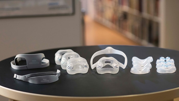 Sleep apnea masks accessories