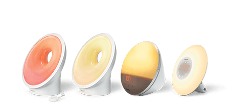 Featured sleep and wake-up light models