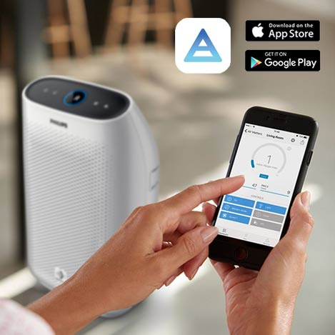 Connected Air Purifier Series 2000i