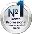 No1. Recommended brand by professionals