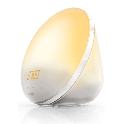 Philips Wake-up Light with Sunrise and Sunset Simulation