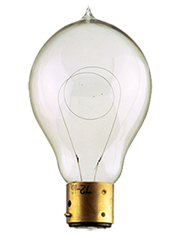 first Philips light bulb