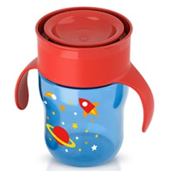 Spoutless sippy cups