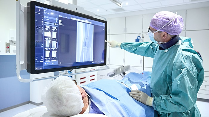 Reducing procedure time in image-guided therapy with Philips Azurion