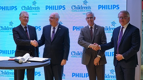 Philips and Children's Hospital & Medical Center of Omaha announce 10-year, strategic partnership to help innovate for seamless pediatric care