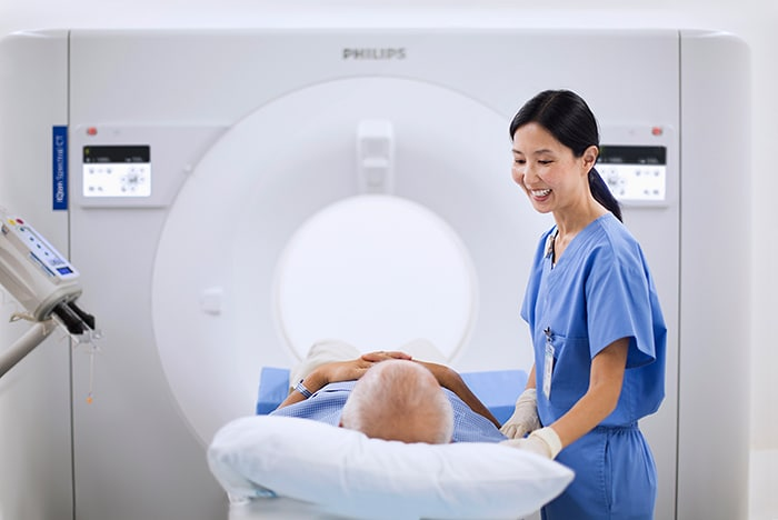 IQon Spectral CT: the world's first spectral detector-based CT scanner delivers spectral results 100% of the time.
