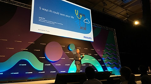 Philips discusses AI at Web Summit