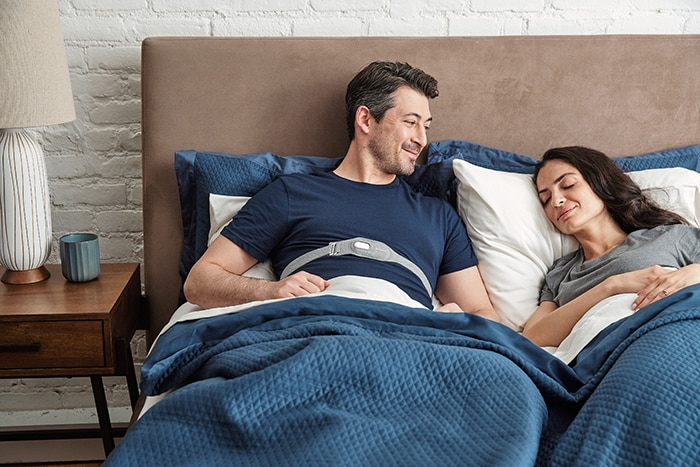 Quieter nights for positional snorers and their partners