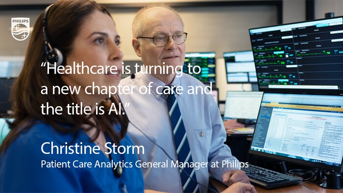 Christine Storm - Patient Care Analytics General Manager at Philips